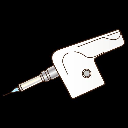 極細針・電動注射器による麻酔をすることで痛みの少ない虫歯治療の実現
